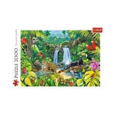 Puzzle 2000 Las tropikalny
