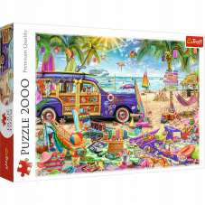 Puzzle 2000 Tropikalne wakacje