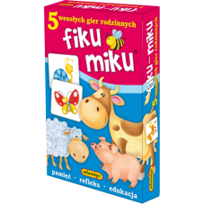 Fiku miku + Gratis Audiobook do wyboru