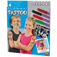 Flamastry do tatuażu + szablony