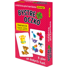Karty - Bystre Oczko + Gratis Audiobook do wyboru