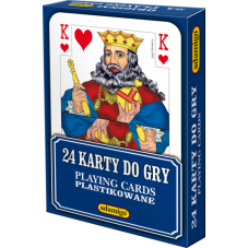 KARTY DO GRY 24 + Gratis Audiobook do wyboru