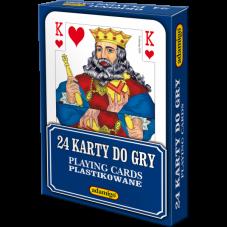KARTY DO GRY 24 + Gratis Audiobook do wyboru