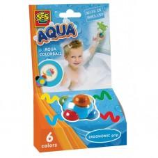 Kredki w kuli do malowania w kąpieli