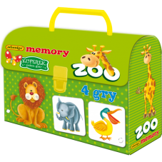 Kuferek - ZOO adamigo memory + Gratis Audiobook...