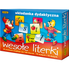 Wesołe literki + Gratis Audiobook do wyboru