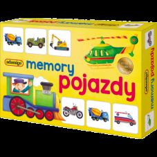 Mini pojazdy - adamigo memory + Gratis...