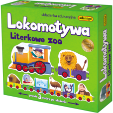 Lokomotywa - Literkowe zoo + Gratis Audiobook...
