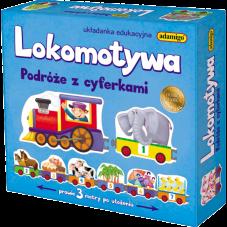 Lokomotywa - Podróże z cyferkami + Gratis...