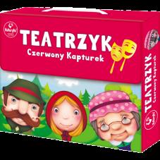 Teatrzyk - Czerwony Kapturek + Gratis Audiobook...
