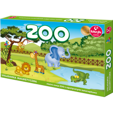 Zoo - układanka magnetyczna + Gratis Audiobook...