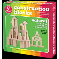 Klocki Drewniane Konstrukcyjne Naturalne +...