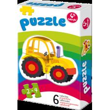 Moje pierwsze puzzle – Pojazdy + Gratis...