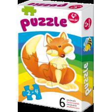 Moje pierwsze puzzle – Zwierzątka + Gratis...