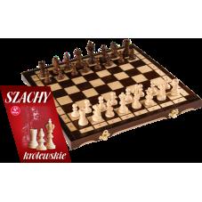 """Szachy drewniane """"Królewskie"""" + Gratis..."""