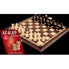 """Szachy drewniane """"Szlacheckie"""" + Gratis..."""