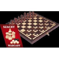 Szachy i warcaby drewniane + Gratis Audiobook...