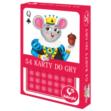 Karty do gry 54 JUNIOR + Gratis Audiobook do...