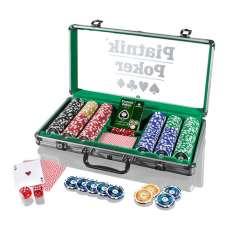 Piatnik Poker - Alu-Case - 300 żetonów 14g