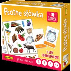 Psotne Słówka - Głoski Ciszące + Gratis...