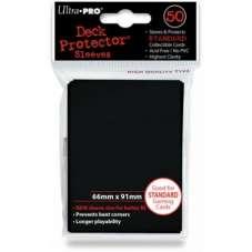 ULTRA-PRO Deck Protector - Solid Black (Czarne) 50