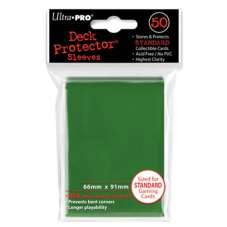 ULTRA-PRO Deck Protector - Solid Green...