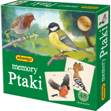 Ptaki - Adamigo memory + Gratis Audiobook do...