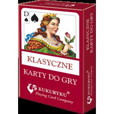 Klasyczne karty do gry - Kukuryku + Gratis...