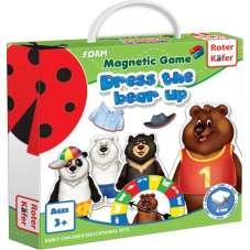 Magnetyczna gra Ubierz Misia (Dress a Bear Up)